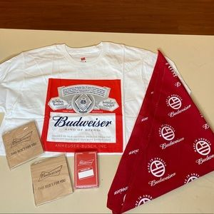 Budweiser Social Influencer Care Package